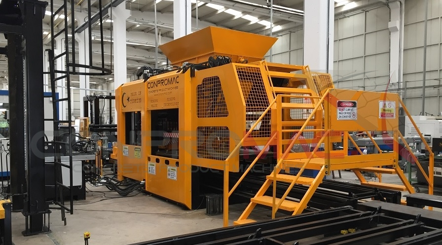 Concrete Block and Paver Making Machines