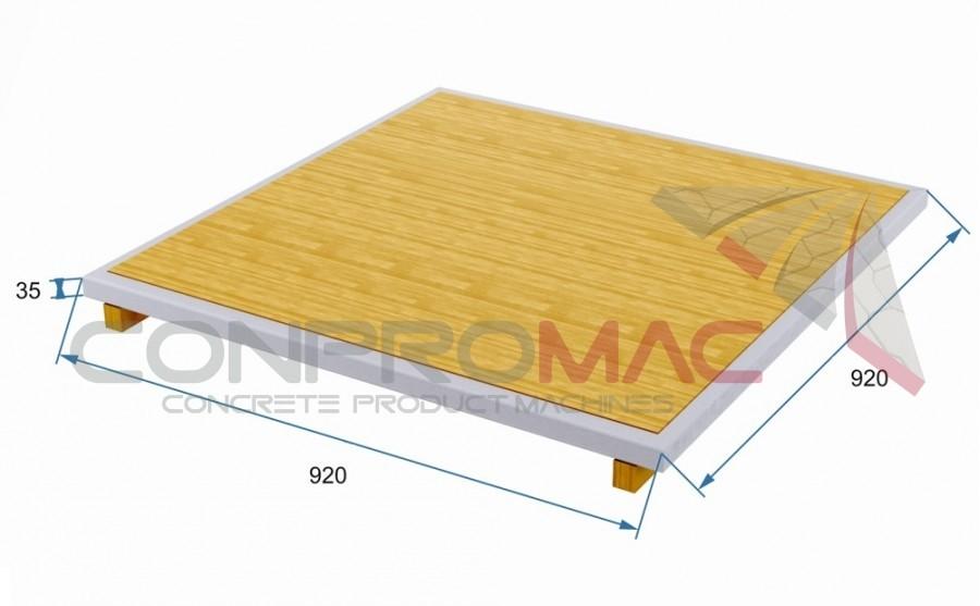 Çıta Ayaklı Tahta Palet 920 X 920