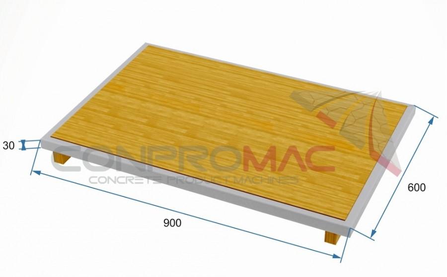 Çıta Ayaklı Tahta Palet 900 X 600