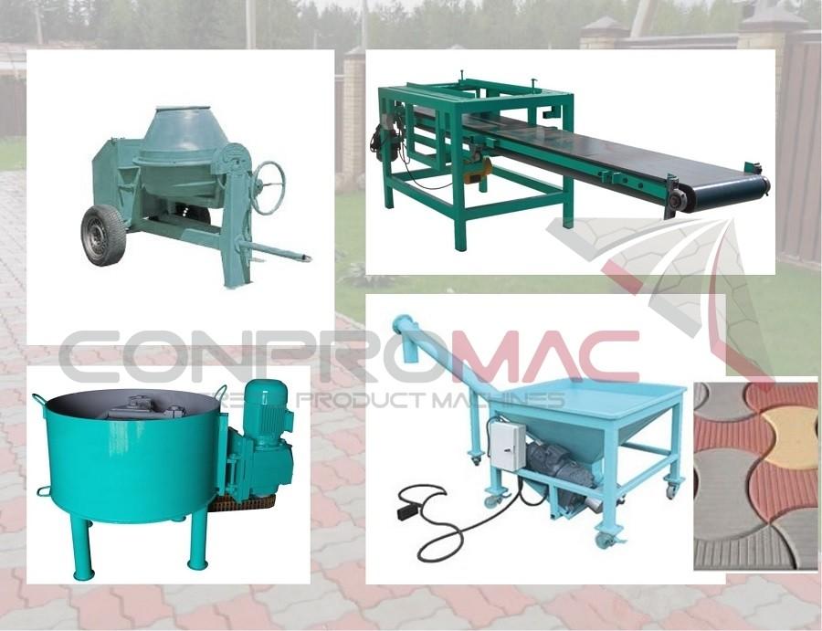 Dekoratif Beton Üretim Makinaları