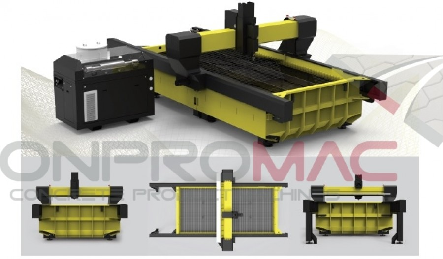 Özel Üretim Su Jeti CNC Makineleri